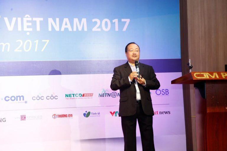 Phó Chủ tịch Hiệp hội Thương mại Điện tử Việt Nam (VECOM), ông Nguyễn Ngọc Dũng